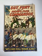 Sgt. Fury and his Howling Commandos Issue 28 MCU March 1966 Comic Book