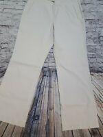 Eddie Bauer Women's Size 10 Mercer Fit Beige Pants Casual