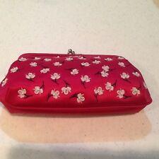Lulu Guiness Deep Pink Frame Style Clutch Handbag