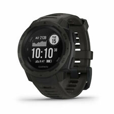 Reloj Garmin instinto resistente al aire libre con GPS y monitoreo de ritmo cardíaco, Graphi