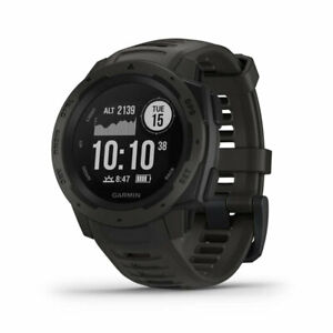 Garmin Instinct Rugged Outdoor Watch with GPS & Heart Rate Monitoring, Graphite