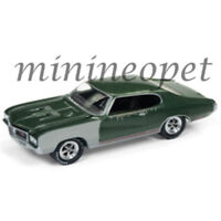 JOHNNY LIGHTNING JLCP7083 B 1970 BUICK GS 455 1/64 DIECAST SHERWOOD GREEN POLY