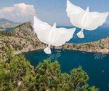 5Pcs White Dove Balloons Wedding Party Anniversary Memorial Celebration Decor