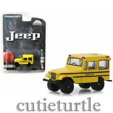 Greenlight 1974 Jeep DJ-5 School Bus 1:64 Diecast Model Car Yellow 30065