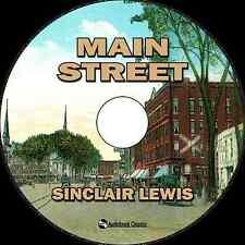 Main Street - Unabridged MP3 CD Audiobook in paper sleeve