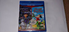 Adventures of Ichabod and Mr. Toad Fun & Fancy Free Reluctant Dragon Blu-ray DVD