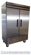 Sun Ice Commercial 49cf Stainless Steel 2 Door Reach In Freezer SUNRF46