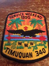 Timuquan Lodge #340 1990 Service Weekend OA Order of the Arrow 9A-164