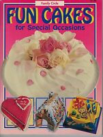 Family Circle Cookery Collection - Fun Cakes FREE AUST POST vgc used paperback