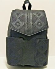 INC $90 NWT Black One Size Britny Backpack Buckle Adjustable Straps Faux Leather