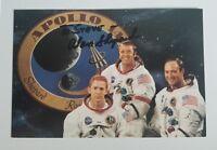 """Mercury 7 Astronaut"" Alan Shepard Hand Signed 4x6 Color Photo Todd Mueller COA"