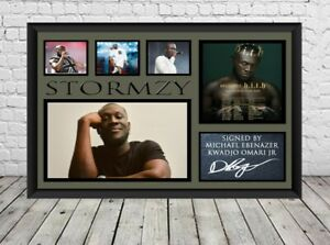 Stormzy Signed Photo Print Poster Autographed Memorabilia