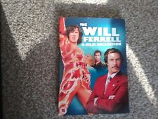 Will Ferrell Collection (DVD, 2013, Box Set) new and sealed freepost