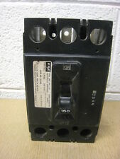 Federal Pacific Fpe Nej Nej233150 3 Pole 150 amp 240 Volt Circuit Breaker