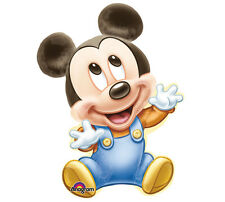 """Disney BABY MICKEY MOUSE XL 32"""" BALLOON 1st Birthday Party Shower Decorations"""