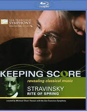 Keeping Score: Revolutions in Music - Stravinsky's Rite of Spring, Good DVD, Mic