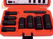 BERGEN 9 Teile Universal Hubcap and Rad Muttern Entfernung Set Werkzeug A1321