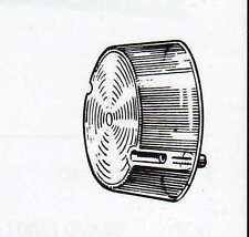 Plastica fanalino anteriore incolore Fiat 238