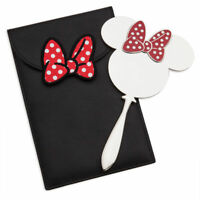 Oh My Disney Authentic Minnie Mouse Womens Fashion Glass Mirror Accessory