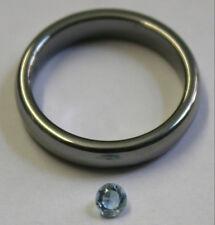 Natural Gemstone Loose Acquamarina 3.5MM Taglio Rotondo Sfaccettato AQ23R