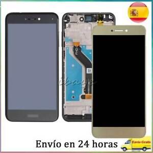 Pantalla Completa Huawei P9 P8 Lite 2017 PRA-LX1 Tactil +Lcd +Marco Negro Blanco