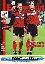 EINTRACHT FRANKFURT * STADION * Magazin 1996 * SC FREIBURG * RAR