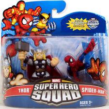 """Marvel Superhero Squad THOR & SPIDER-MAN Series 16 Mini 3"""" Figure 2-Pack"""