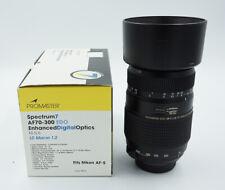 Promaster Tamron AF 70-300mm f/4-5.6 Macro 1:2 f/ Nikon AF-S Open Box #811