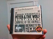 Prokofiev Peter & The Wolf Bernstein CD New Sealed
