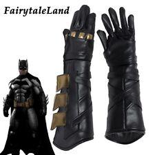 Justice League Batman Cosplay Gloves Bruce Wayen costume Accessory