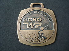 Water polo, 2013, Croatia Cup - Cadets, medal, plaque