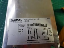 15 V X 2 8 A 5 V X 1 35 A CC Switching Power Supply Lambda CS250nm 5/15 15B