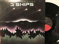 Jon Anderson – 3 Ships LP 1985 Elektra – 9 60469-1 VG+/VG+