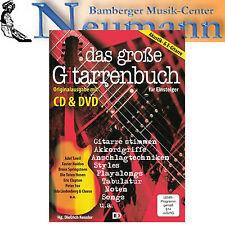 Das große Gitarrenbuch DVD + CD  für Akustik- und E-Gitarre Tabulatur
