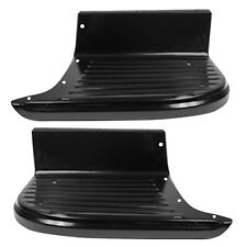55-66 Chevy Pickup Truck Bed Foot Step Short Bed Black Painted Left & Right Pair