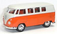 VW Bus (1962) Bulli T1 orange Modellauto ca. 1:37 Spritzguss von WELLY Neuware