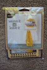 """Bucilla's """"Weave it N' Leave it - # 49024E"""