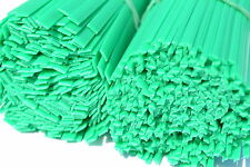ABS plastica saldatura bacchette kit 100pcs triangolare+piatto,verde,paraurti