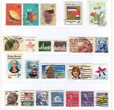 Lot Stamps AMERICA - Lotto di Francobolli AMERICA