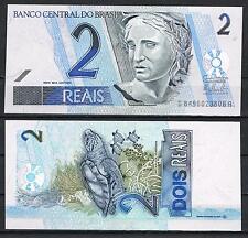 BRASIL - BILLETE 2 REAIS 2012 Pick 249     SC  UNC