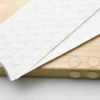 50pcs Self-Adhesive Rubber Feet Clear Bumper Door Furniture Pad Floor Protector
