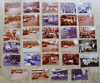 ORIG UM 1970/80 29 X FOTO 2CV CITROEN TREFFEN CITROEN VERTRETUNG