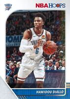 Hamidou Diallo 2019-20 Panini NBA Hoops Basketball Base Card #131 OKC Thunder