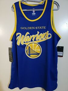 NWT STITCHED Golden State Warriors Mens Large L Jersey Curry Thompson NBA $40