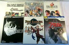Lot 6 Strategy Player's Guides Final Fantasy Wii Zelda Fire Emblem Premiere
