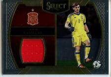 2016-17 Panini Select Memorabilia Jersey Relic Iker Casillas - Spain