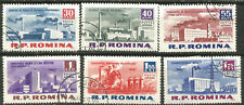 Roumanie Scott #C129-134 (0) Industrie 1963
