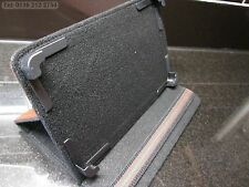 """Brown Secure Multi Angle Case/Stand for 7"""" VIA 8850 MID EPAD APAD Tablet"""