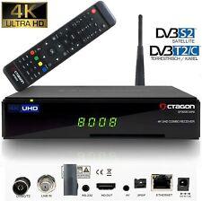 OCTAGON SF8008 MINI 4K UHD E2 DVB-S2X & DVB-C/T2 Combo Receiver WLAN PVR