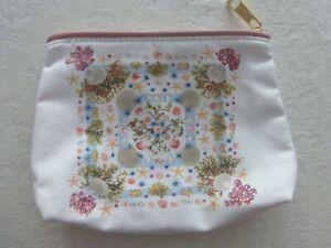Estee Lauder cosmetic make-up bag purse NEW Beach theme design